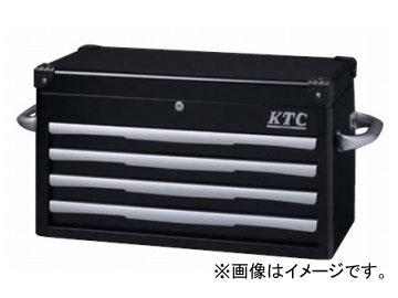 KTC トップ�ェスト(4段4引出�) ブラック EKR-1004BK