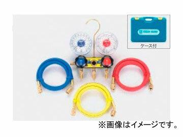タスコジャパン サイトグラス付ゲージマニホールドキット TA120AH-1