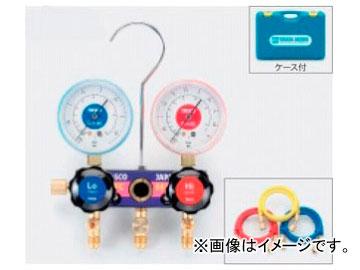 タスコジャパン サイトグラス付ゲージマニホールドキット TA122T
