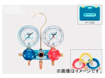 タスコジャパン カーエアコン用ゲージマニホールドキット TA126-2