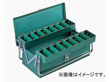 リングスター/RING STAR 工具箱 �イクオリティボックス RSD高級二段�ツールBOX RSD-471 グリーン JAN:4963241000276