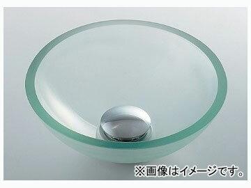 カクダイ ガラス丸型手洗器 品番:493-028-C JAN:4972353003273