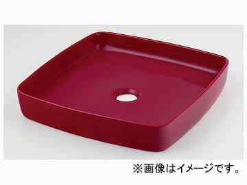 カクダイ 角型手洗器 ラズベリー 品番:493-096-R JAN:4972353046379