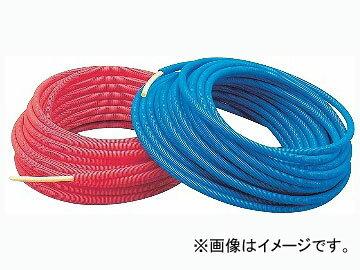 カクダイ サヤ管つき架橋ポリエチレン管(青) 20A×36 品番:672-134-30B JAN:4972353672387
