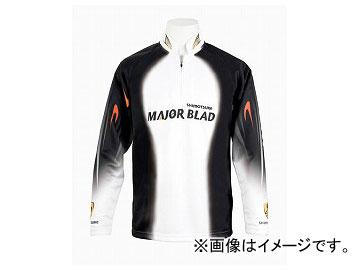 下野/SHIMOTSUKE MJBクールマックスシャツ SMS-430 ホワイト/L JAN:4531373212777