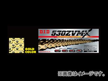 2輪 D.I.D ZVM-Xシリーズ シールチェーン ゴールド 110L カワサキ ニンジャ ZX-6R