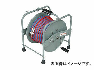 SAR/三協リール トライアンス/TRIENS 大型 酸素アセチレン 手巻きリール 20m STR-20A