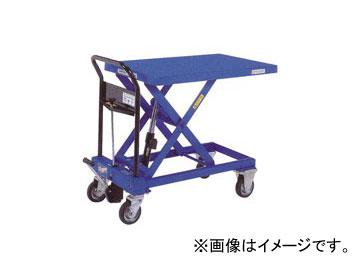 をくだ屋技研/O.P.K 手動式リフトテーブルキャデ 早揚り装置・急降下防止バルブ付 LT-H400-8L