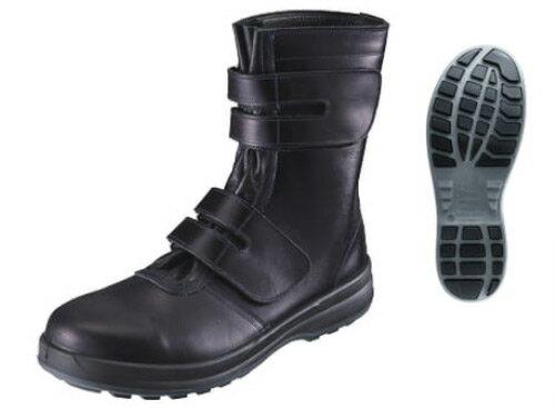 お値段見直しました 新作 シモン/Simon 安全靴 SX3層底 トリセオ 8538 黒 サイズ:23.5~28