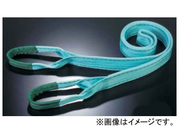 田村総業/TAMURA ベルトスリング Pタイプ JISIII等級 両端アイ形(E形) P-3E-100×7.5m