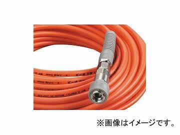 フジマック/FUJIMAC スムージーホース 高圧用 ロック一発カプラ オレンジ 20m NHSP-620 JAN:4984546601296