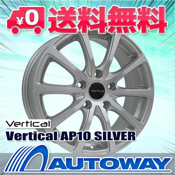 ■夏タイヤ16インチタイヤホイールセット■Vertical AP10 SILVER 16x6.5 +48 PCD100x5穴  シルバー 205/50R16《検索用》タイヤのAUTOWAY(オートウェイ)【RCP】