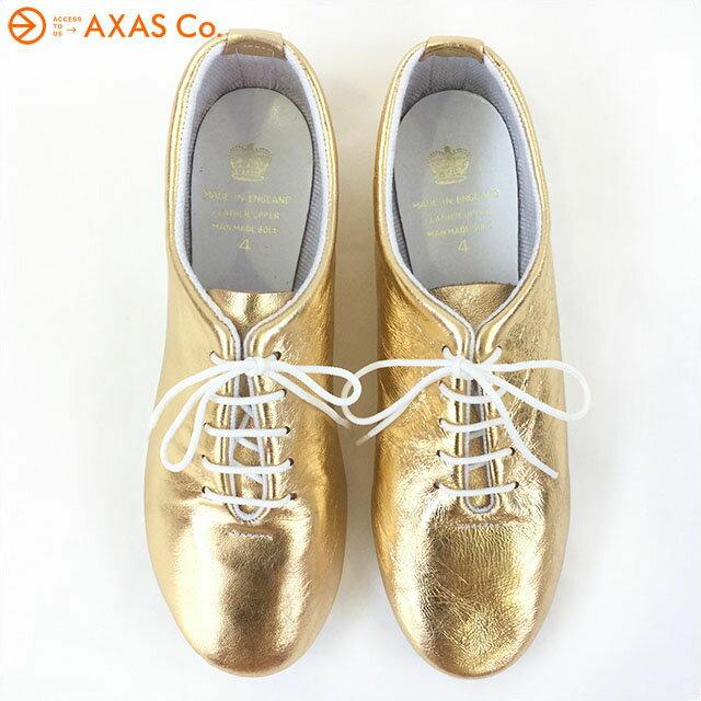 【vaokh】 CROWN (クラウン)  DANCE JAZZ METALLIC Col.Gold ゴールド[シューズ スニーカー フラットシューズ メタリック 送料無料]