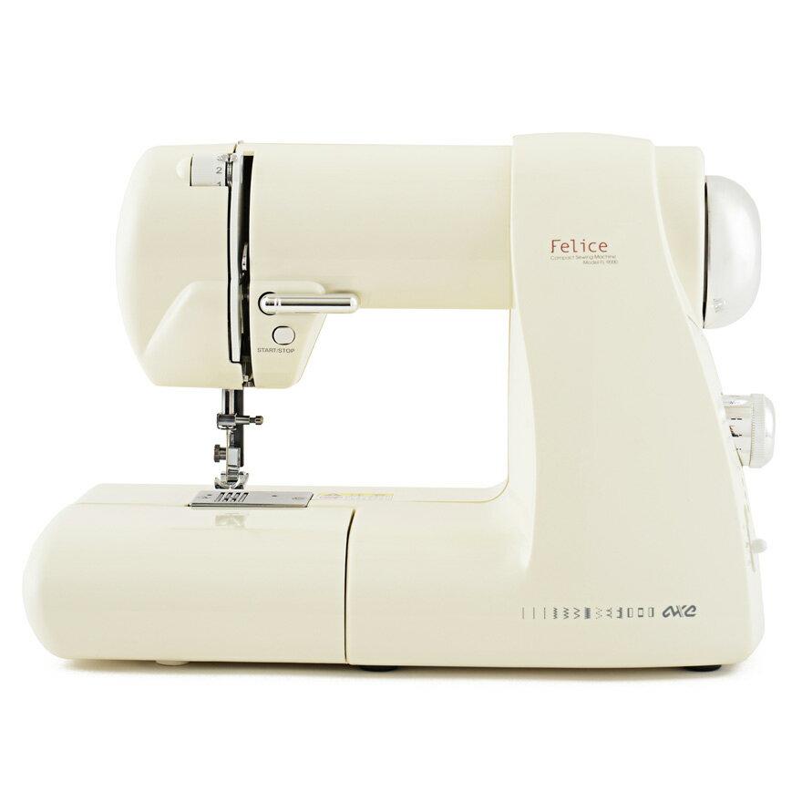 FL-9000 電動ミシン アックスヤマザキ コンパクトで軽いのにしっかり縫える初心者向け。見た目もかわいくお部屋に馴染むデザイン コンパクト家電 生活家電 送料込み