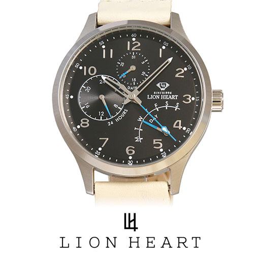 【20%OFFセール】 LIONHEART ライオンハート WATCH 腕時計 メンズ LHW105BKIV プレゼント ギフト