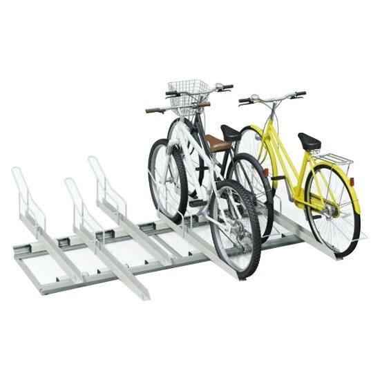 送料無料 代引き・同梱不可 【取り寄せ】 ダイケン 自転車ラック スライドラック 基準型 SR-S6 6台用