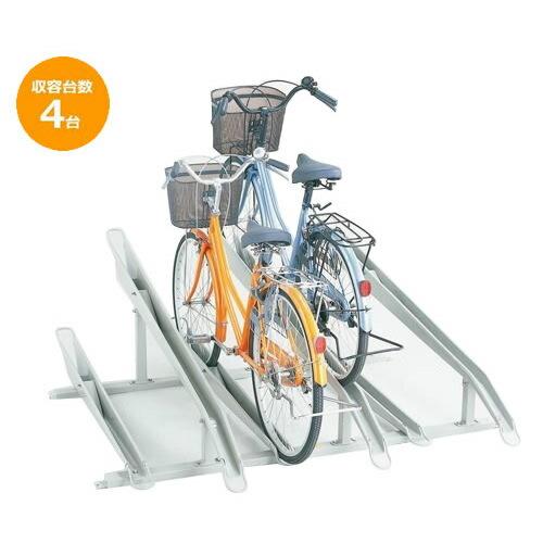 送料無料 代引き・同梱不可 【取り寄せ】 ダイケン 自転車ラック サイクルスタンド KS-C284 4台用