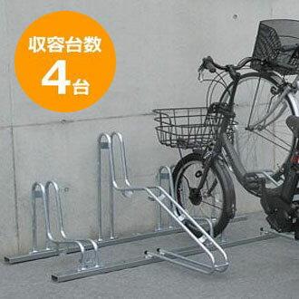 送料無料 代引き・同梱不可 【取り寄せ】 ダイケン 自転車ラック サイクルスタンド CS-G4 4台用