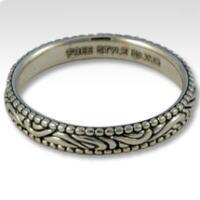 ブラックオリエンタル シルバーリング(指輪)*FREE STYLE(フリースタイル)