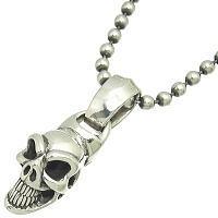 グッドラックスカル シルバーペンダント*BWL(ビルウォールレザー)Good Luck Skull