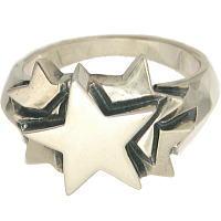 ファイブスター シルバーリング(指輪)*NORA(ノラ/のら)