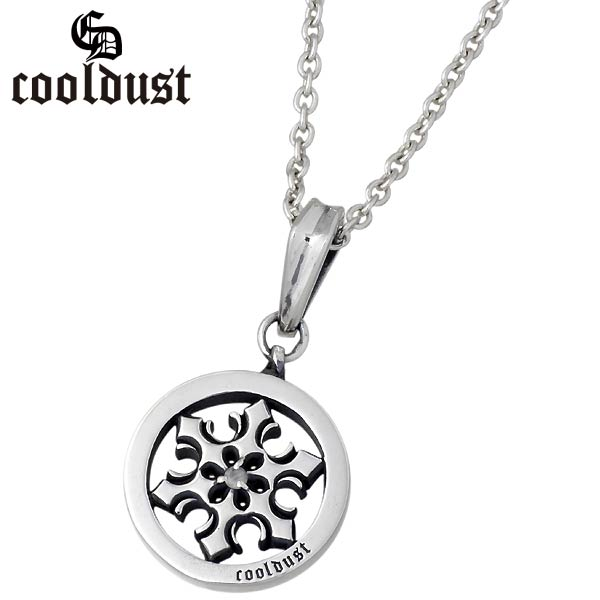 cooldust FUNKOUTS【クールダスト】 シンボリックスノー シルバー ネックレス 雪の結晶 カラーストーン シルバーアクセサリー シルバー925 FCN-032CL60