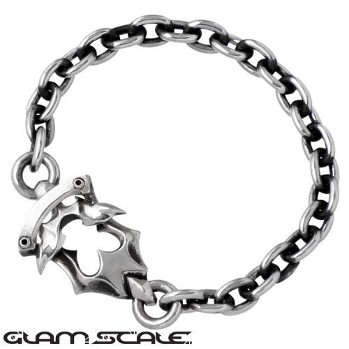 GLAM SCALE【グラムスケイル】 シルバー ブレスレット シルバーアクセサリー シルバー925 GS-LB-007