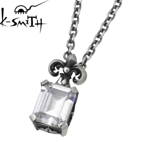 K-SMITH【ケースミス】 クリアキュービック シルバー ネックレス シルバーアクセサリー シルバー925 KI-1279841