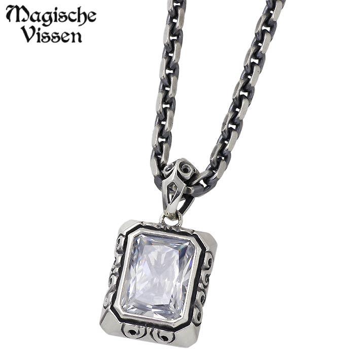 Magische Vissen【マジェスフィッセン】 シルバー ネックレス ストーン リバーシブル シルバーアクセサリー シルバー925 OZP-023