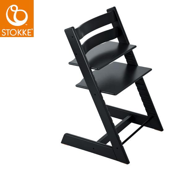 【ストッケ正規販売店】【正規輸入品】Stokke Tripp Trapp Chair  ストッケ トリップトラップ (ブラック)