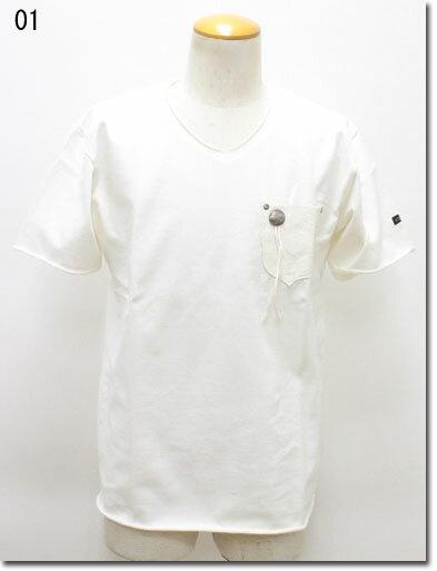 SCHOTT 【ショット】SCHOTT BROS ネイティブレザーポケットT 半袖Tシャツ 3173011