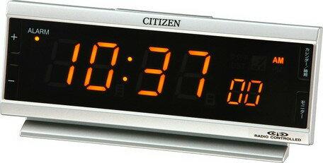 目覚まし時計 メンズ レディース 時計 シチズン電波目覚まし時計 AC電源 パルデジットピュア 8RZ099-019 シチズン