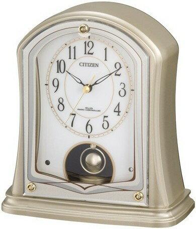 置き時計 メンズ レディース 時計 シチズン電波置き時計 パルドリーム 4RY693-018 シチズン