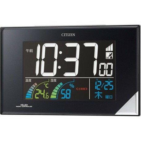 目覚まし時計 メンズ レディース 時計 シチズン電波目覚まし時計「パルデジットネオン」 8RZ119-002 シチズン