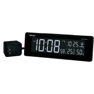 目覚まし時計 メンズ レディース 時計 セイコー 電波交流式 デジタル 目ざまし時計 DL205K