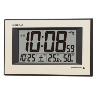 置き時計 メンズ レディース 時計 セイコー 電波掛置き兼用時計 SQ438G