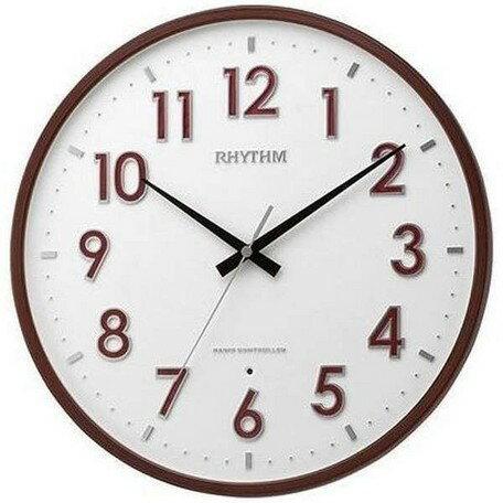 期間限定 掛け時計 インテリア・寝具・収納 リズム 電波 掛時計 フィットウェーブパンセ 時計 ※fu