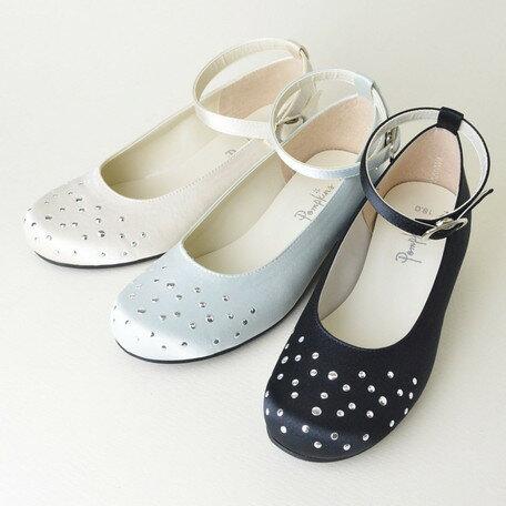 女の子靴 キッズ 子供靴 サテン フォーマルシューズ フォーマル シューズ 入園 入学 卒園 卒業 日本製 国産品 靴 子供用 女の子