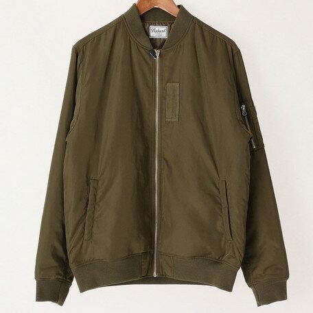 週末限定ポイント2倍 10日10時~  フライトジャケット メンズ アウター ポリツイル 薄中綿 フライト ジャケット メンズファッション