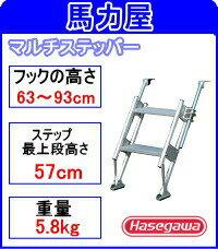 【代引不可・日時指定不可】ハセガワ(長谷川工業)マルチステッパー MTS-2-900S