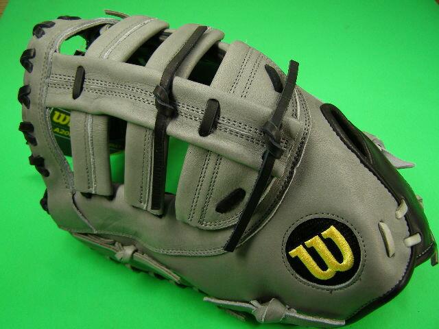 送料無料  型付け無料 WILSON ウィルソン 海外モデル 左投げ用 硬式用 ファーストミット PRO-STOCK A2000 2800 12 Glove