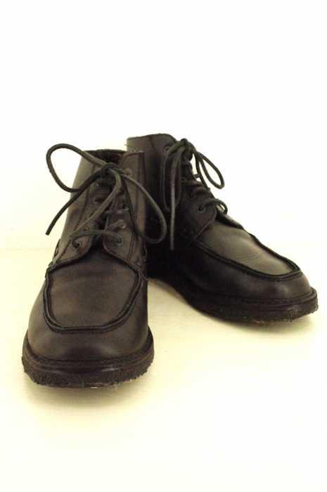 A.P.C.(アー・ペー・セー) BATEAU MONTANTE FOURREE H11 ブーツ サイズ[42] メンズ 男性 MEN ブーツ ブラック系 【中古】【USED】【ブランド古着バズストア】【130716】