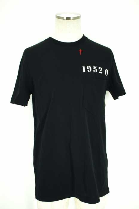 GIVENCHY(ジバンシィ) Tシャツ・カットソー サイズ[S] メンズ 16ss ナンバープリント ポケットTシャツ 【中古】【ブランド古着バズストア】【260317】