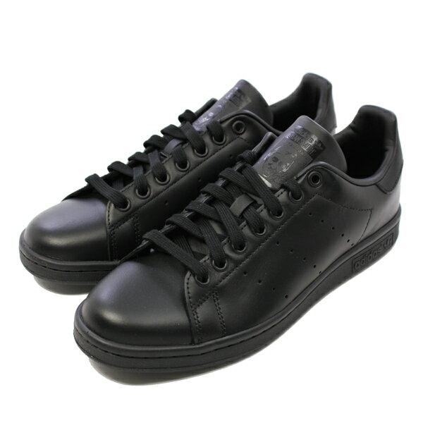 【500円OFFクーポン 11/22 9:59まで】 【アディダス】 アディダス スタンスミス [サイズ:28.5cm(US10.5)] [カラー:ブラック] #M20327 【靴:メンズ靴:スニーカー】【M20327】