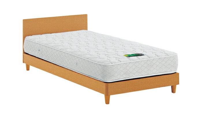 ASLEEP アスリープ ベッドフレーム セミダブルロングサイズ ナチュラル 脚付き チボー FYAP37DC ベッド アイシン精機(代引不可)【送料無料】