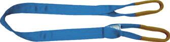 シライ シグナルスリング S3E 両端アイ形 幅150mm 長さ6.0m 【1本】【S3E150X6.0】(吊りクランプ・スリング・荷締機/ベルトスリング)