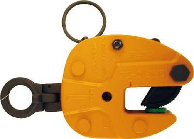 スーパー 立吊クランプ(ロックハンドル式・自在シャックルタイプ) 【1台】【SVC1E】(吊りクランプ・スリング・荷締機/吊りクランプ)