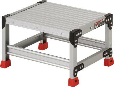TRUSCO(トラスコ) 作業用踏台 アルミ製・高強度タイプ 1段 【1台】【TSF153】(はしご・脚立/作業用踏台)