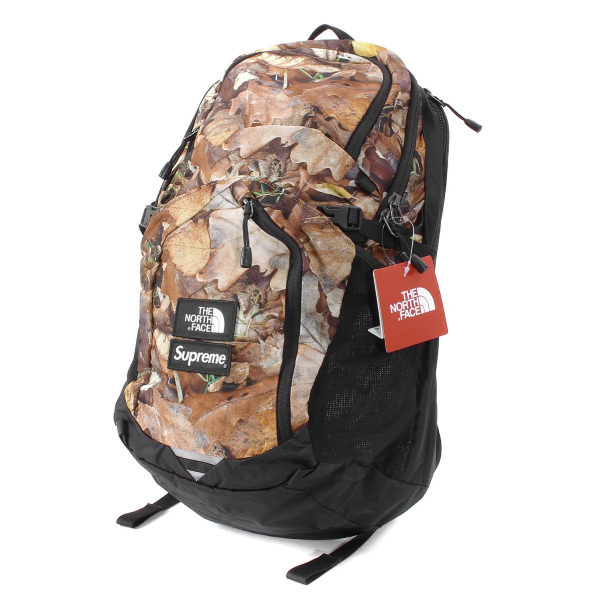 Supreme (シュプリーム) 16A/W ×THE NORTH FACE リーフカモバックパック(Leaves Pocono Backpack) リーフハンティングカモ 【K1675】【あす楽☆対応可】