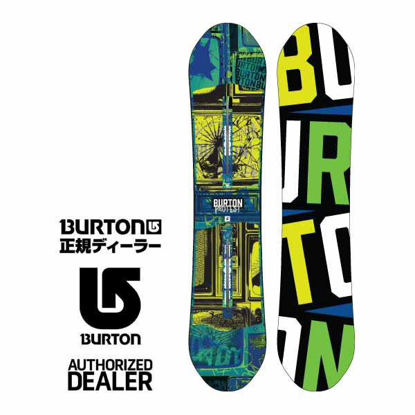 15-16 BURTON (バートン) PROTEST (プロテスト)  132cm [キッズ] スノーボード 【正規保証書付】